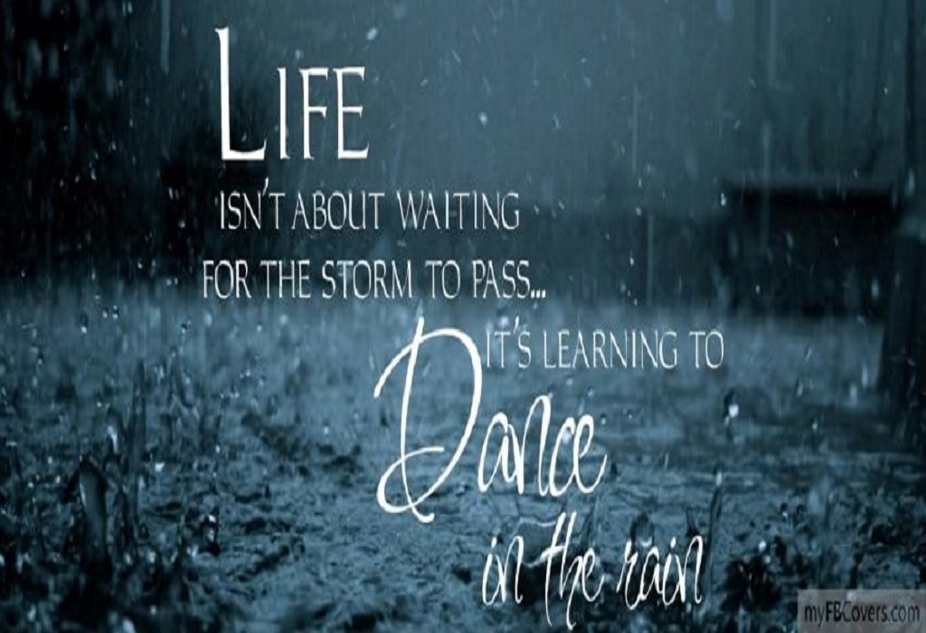 Dancing In The Rain Quotes Dance In The Rain Summer Quote .