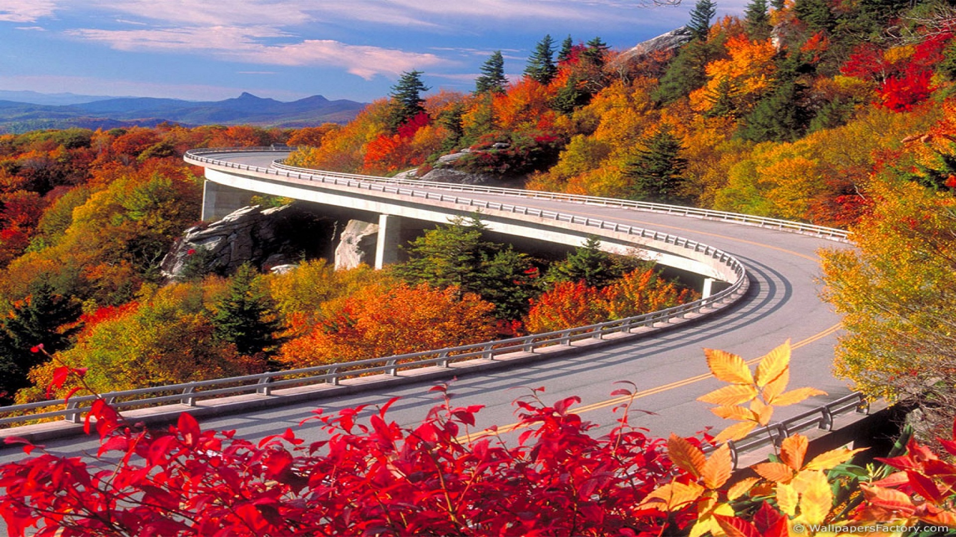 fall nature backgrounds. Nature-wallpapers-autumn-road-wallpaper-wallpaper-32181 . Fall Nature Backgrounds