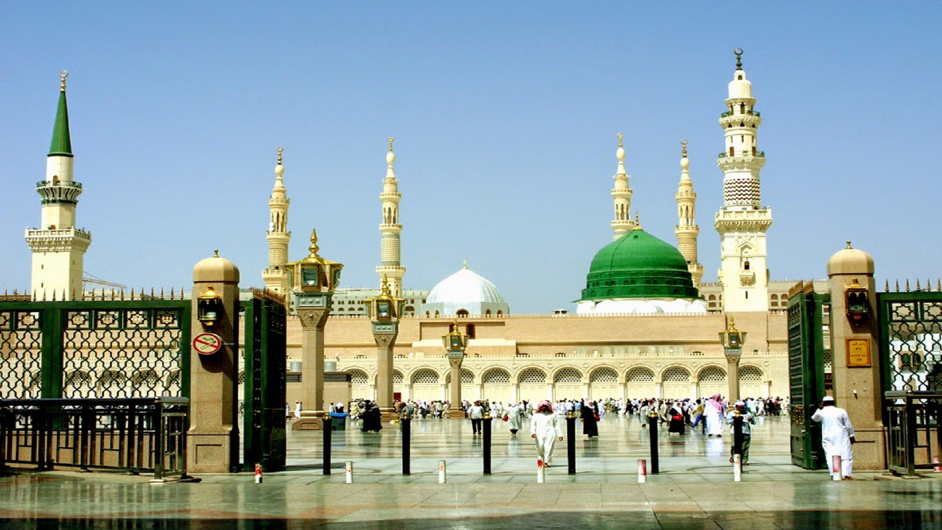nice-gate-of-madina-shareef-wallpapers-free-hd