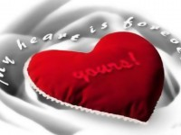 amzaing-love-forever-red-heart-wallpaper