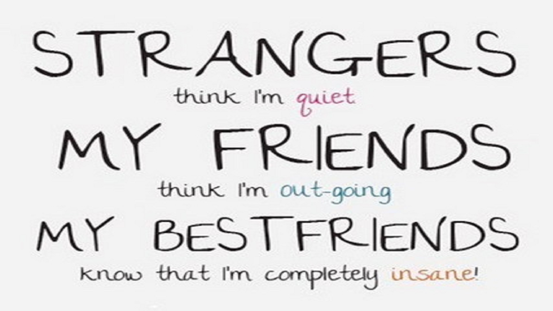 Funny Quote About Friendship Funnyquotesaboutfriendshipfreehdwallpapers  Hd Wallpaper