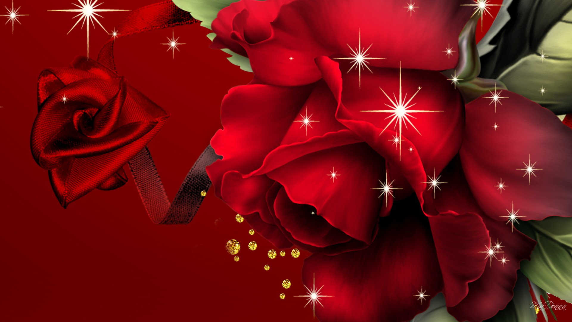red rose background hd - photo #23