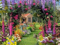 summer garden flower wallpaper-free-hd-for-desktop
