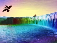 Colourful-Waterfall-3d-Background-free-hd-wallpapers