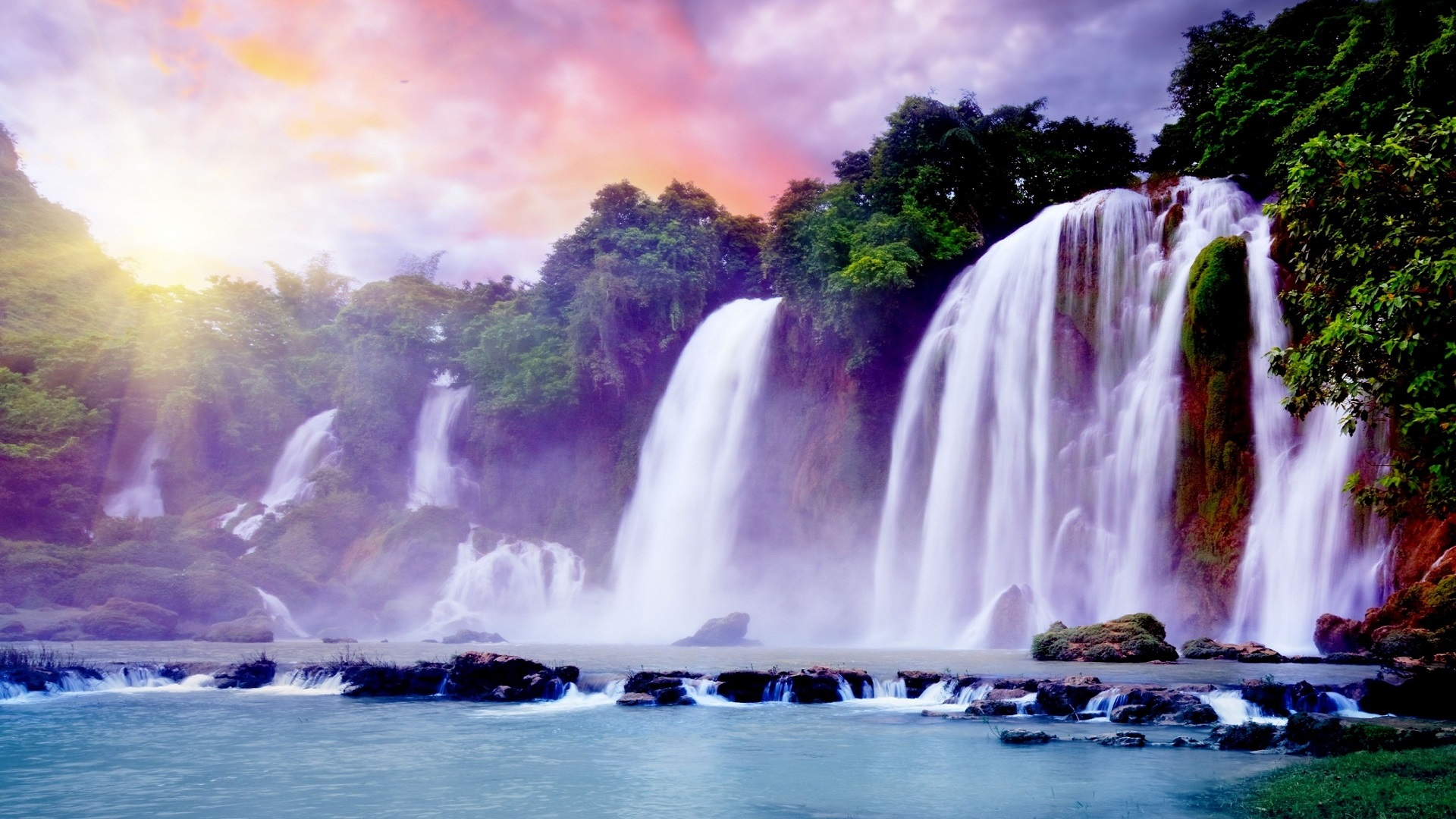 Nice-and-Beautiful-Waterfalls-HD-Wallpapers-free-for