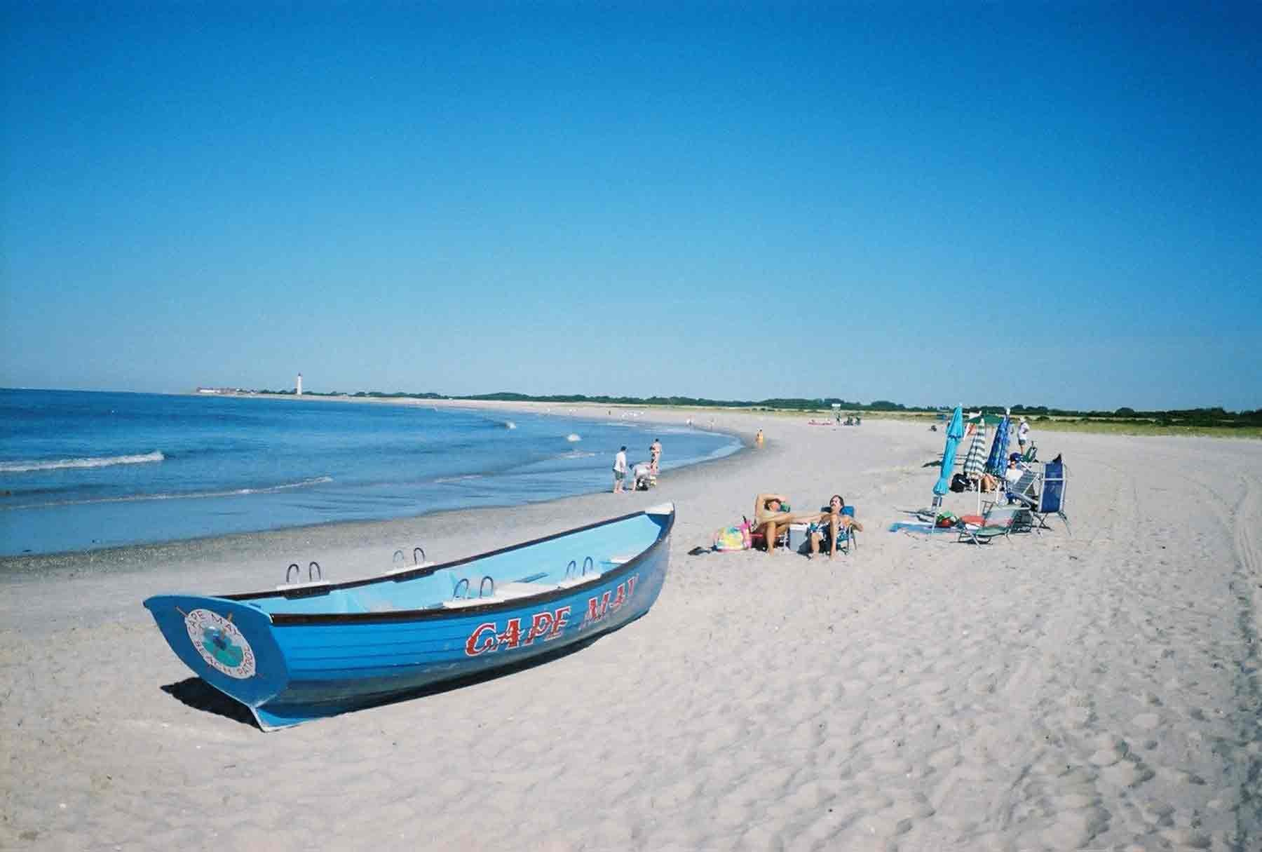 Attractive Beach Of Cape May In City New Jersey Us Hd Free Wallpapers