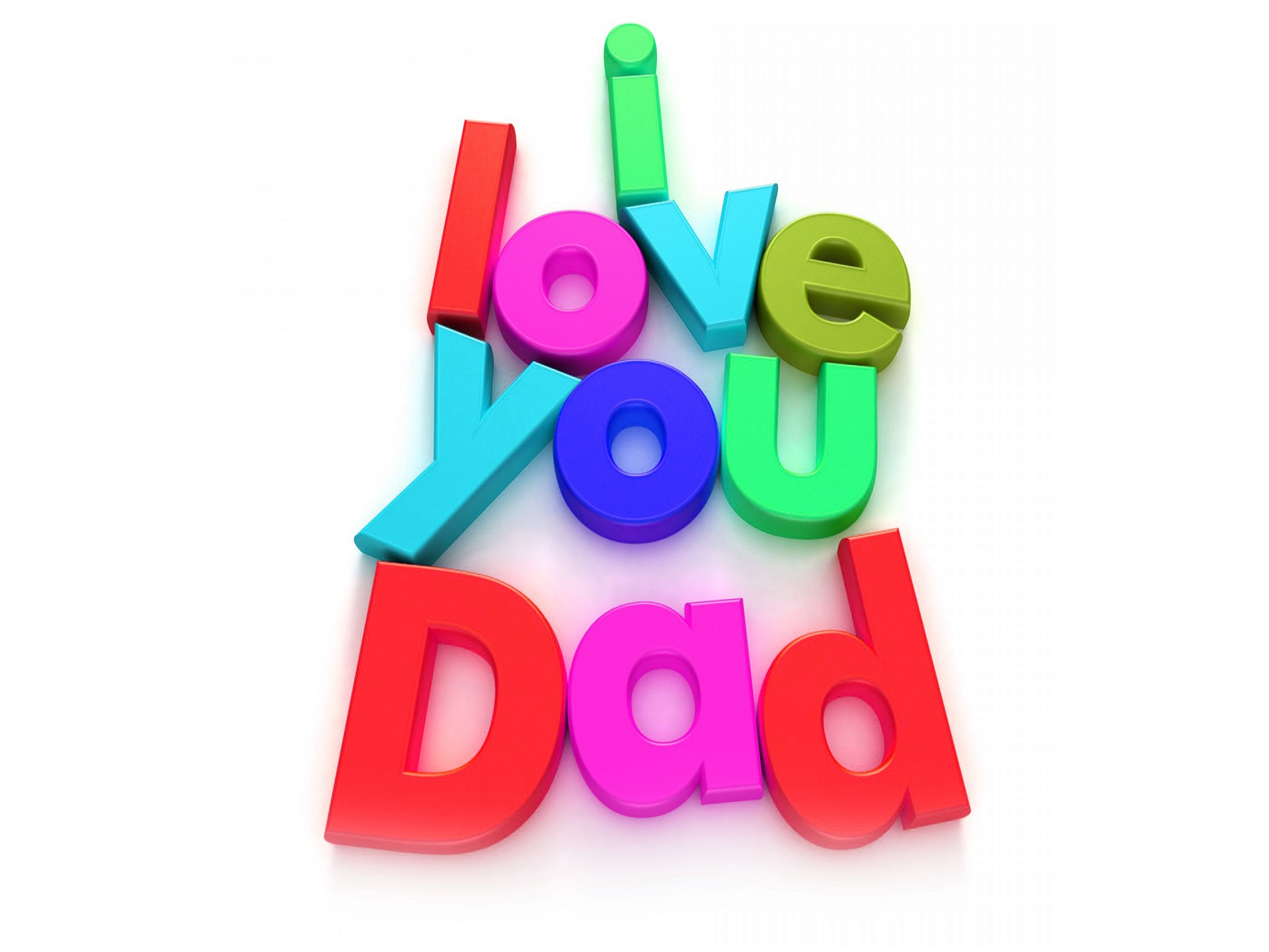 I Love You Dad Fathers Day Wallpaper - HD Wallpaper