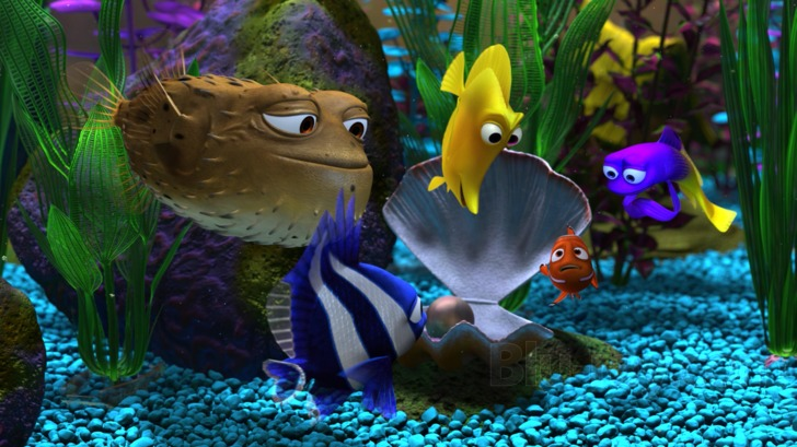 Group Of Finding Nemo Movie Wallpaper