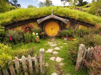 Beautiful Scenery Wallpapers Hobbiton Dara Pilyugina