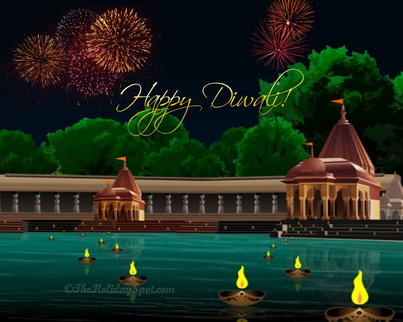 Download Diwali Hd Wallpapers 2016: Green Diwali Wallpapers