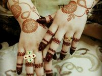 Fantastic images of mehndi designs for brides
