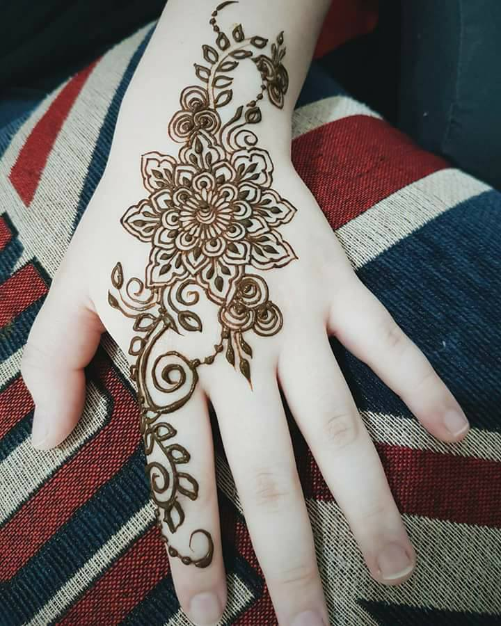 New Simple Mehndi Designs Images PDF Free Download Book