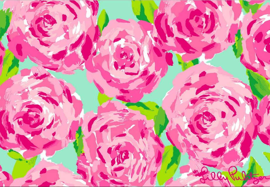 Lilly Pulitzer Launches Wallpaper