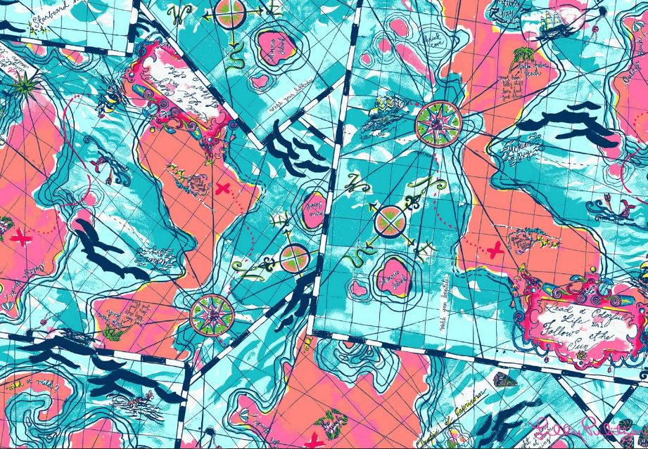 Lilly Pulitzer xmarks Wallpaper