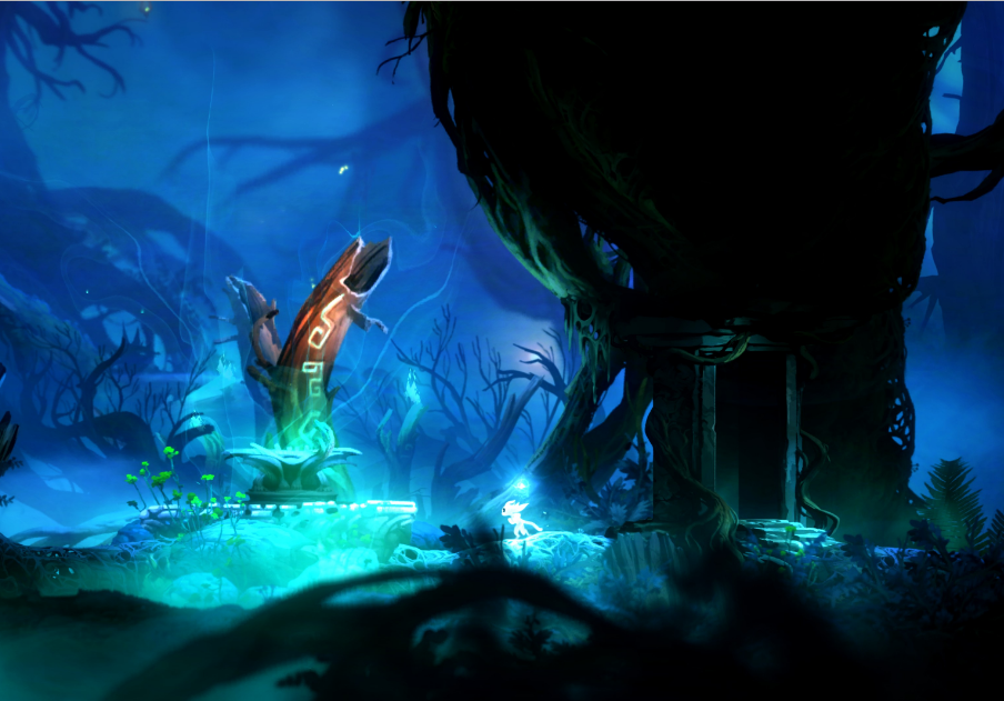 ori and the blind forest animated wallpaper