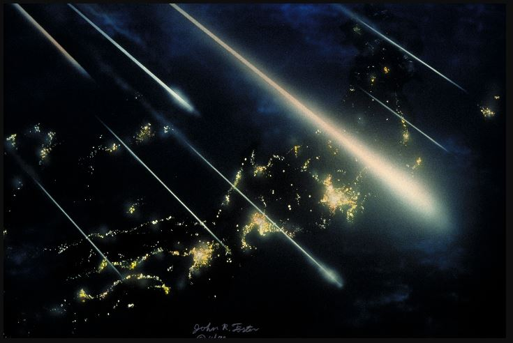 Pictures of Perseids Meteor Shower