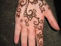 Easy & Simple Henna Design