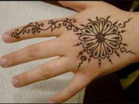 New Easy & Simple Henna Design