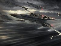 X Wing Wallpaper HD