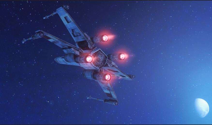 how do x-wing wallpapers work