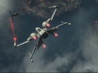 x wing wallpaper force awakens