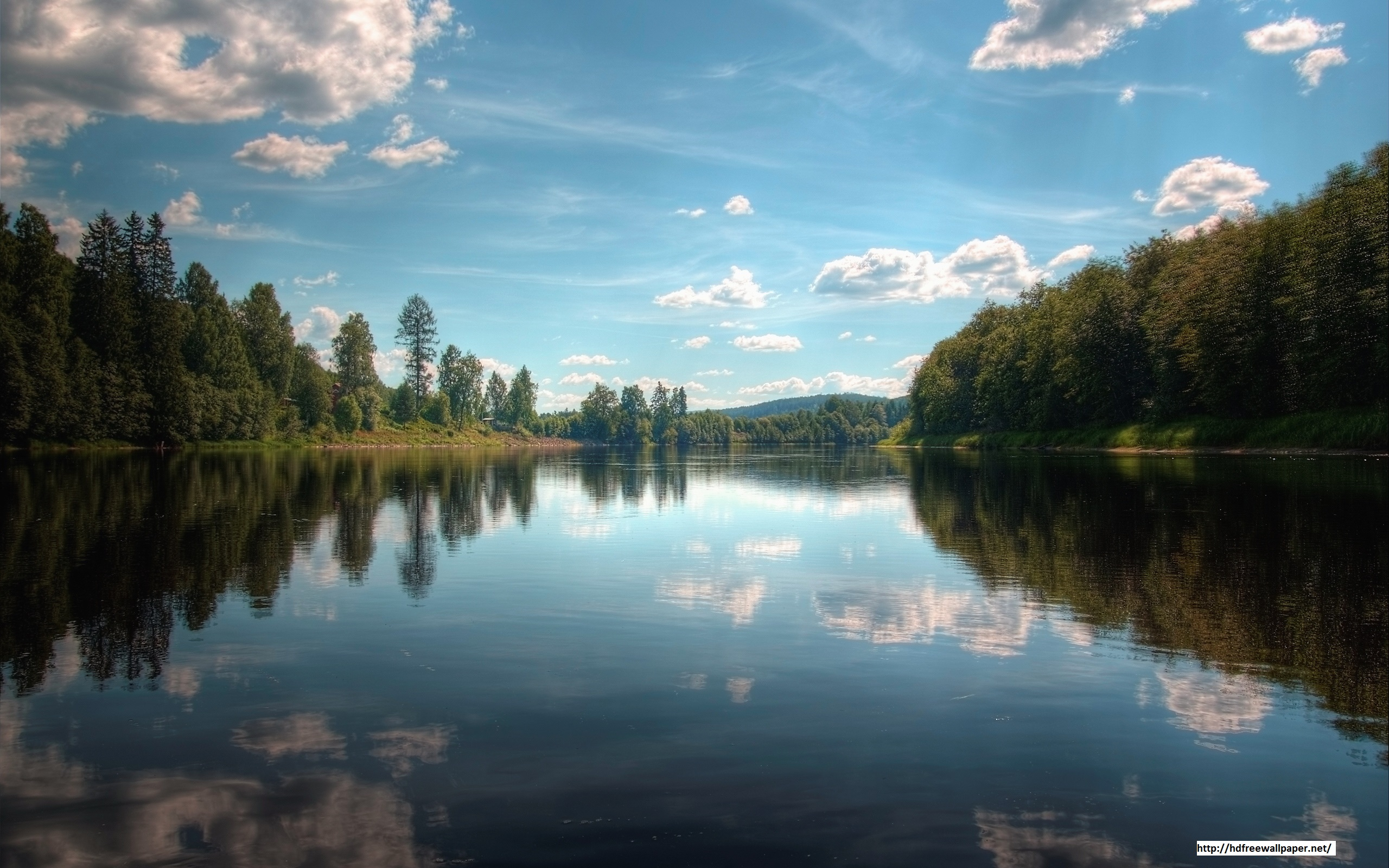 Beautiful River Nature HD Wallpapers