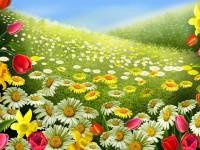 Download Latest Rainy Spring Season Wallpaper