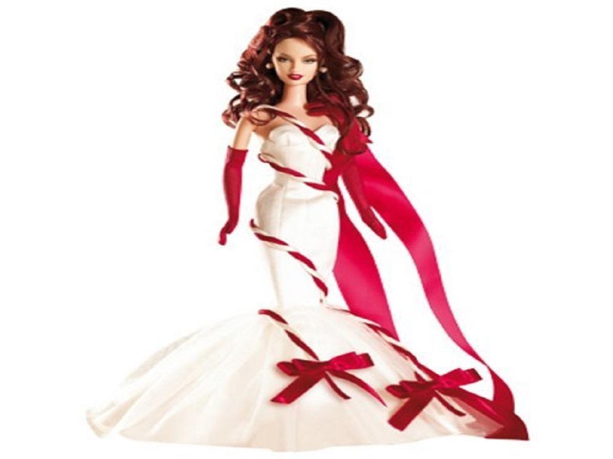 Red white dress wallpaper hd barbie free