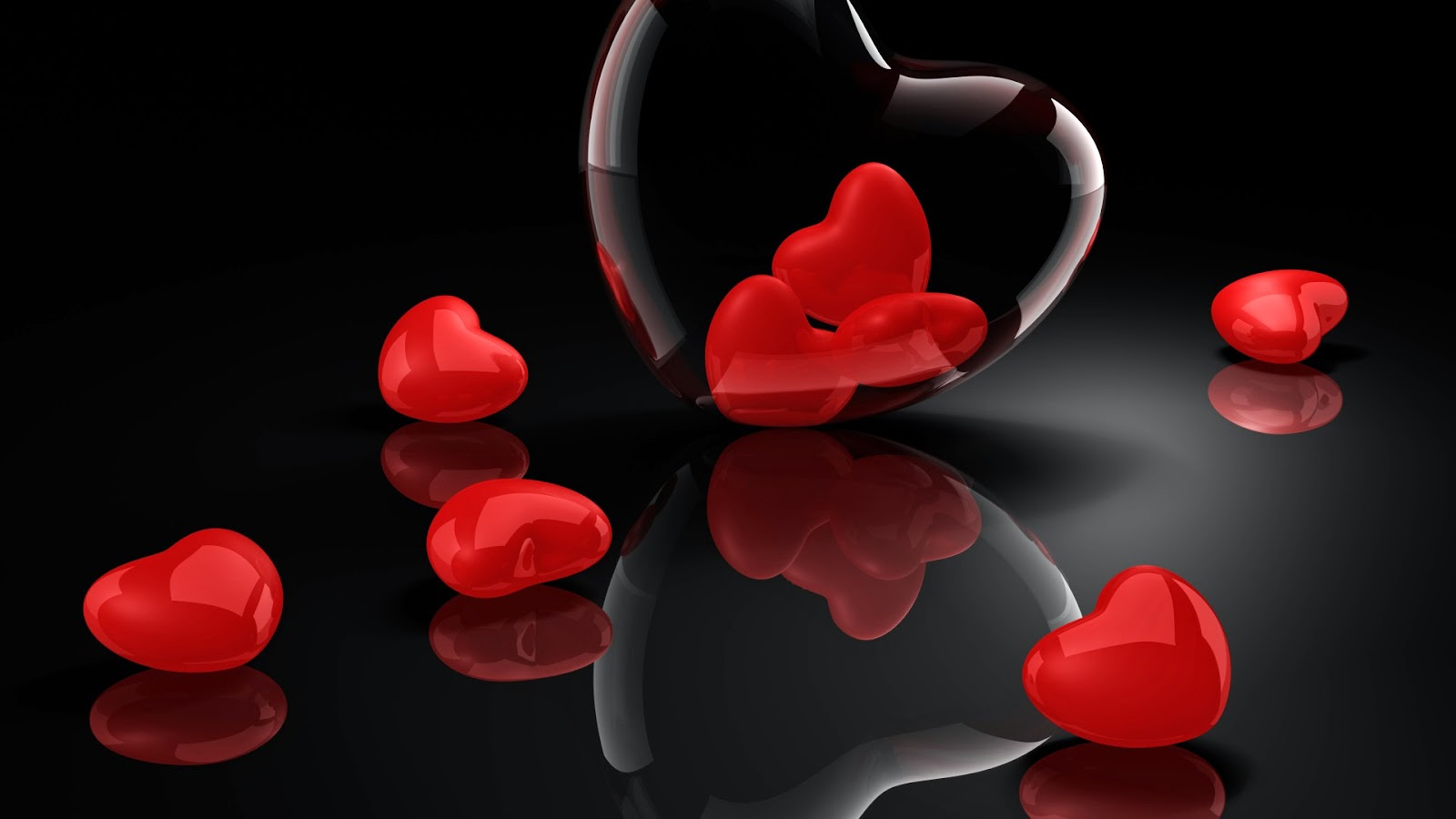Black Red Love Wallpaper : Be-romantic-love-valentines-day-hd-free-wallpaper - HD Wallpaper