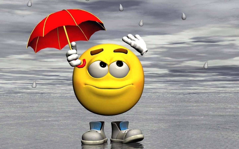 Rainy-Season-Smiley-Wallpaper