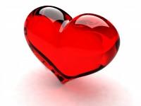Red-mirror-diamond-heart-wallaper