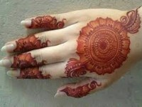 Eid-Ul-Fitar Henna mehandi designs for girls