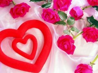 Red-heart-with-pink-roses-wallpaper