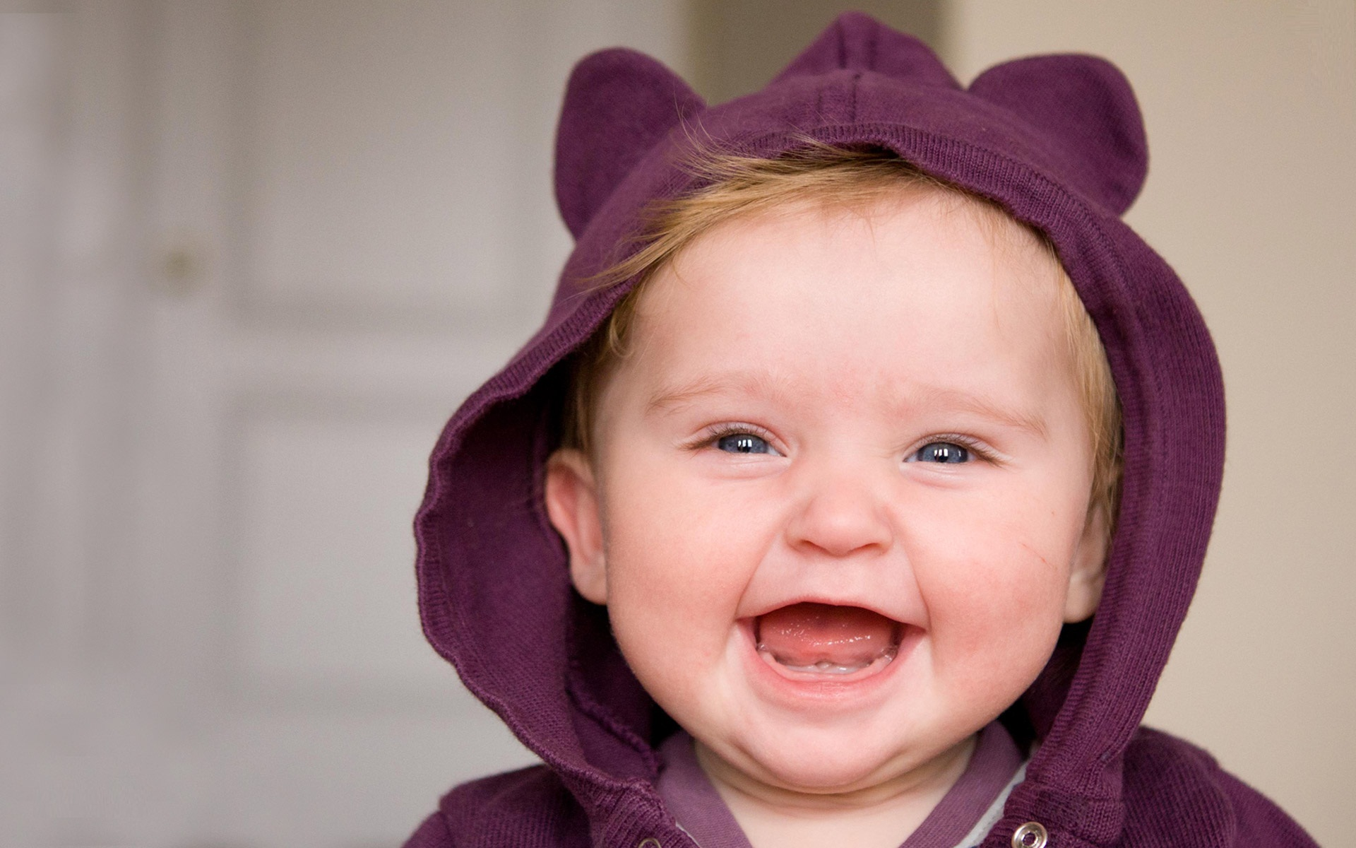 Amazing Smile Cute Baby Hd Free Wallpaper Hd Wallpaper