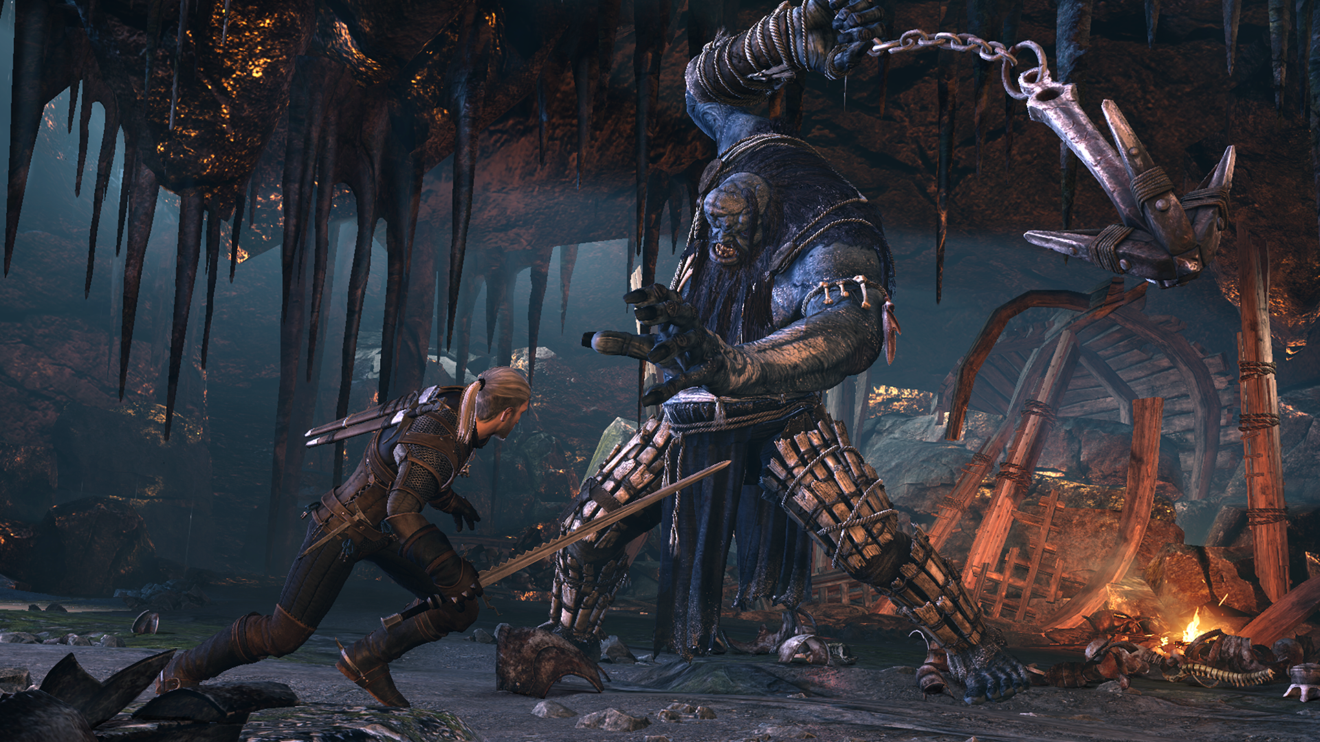 6274_the_witcher_3_wild_hunt_ice_giant_fight-free-hd-wallpapers - hd