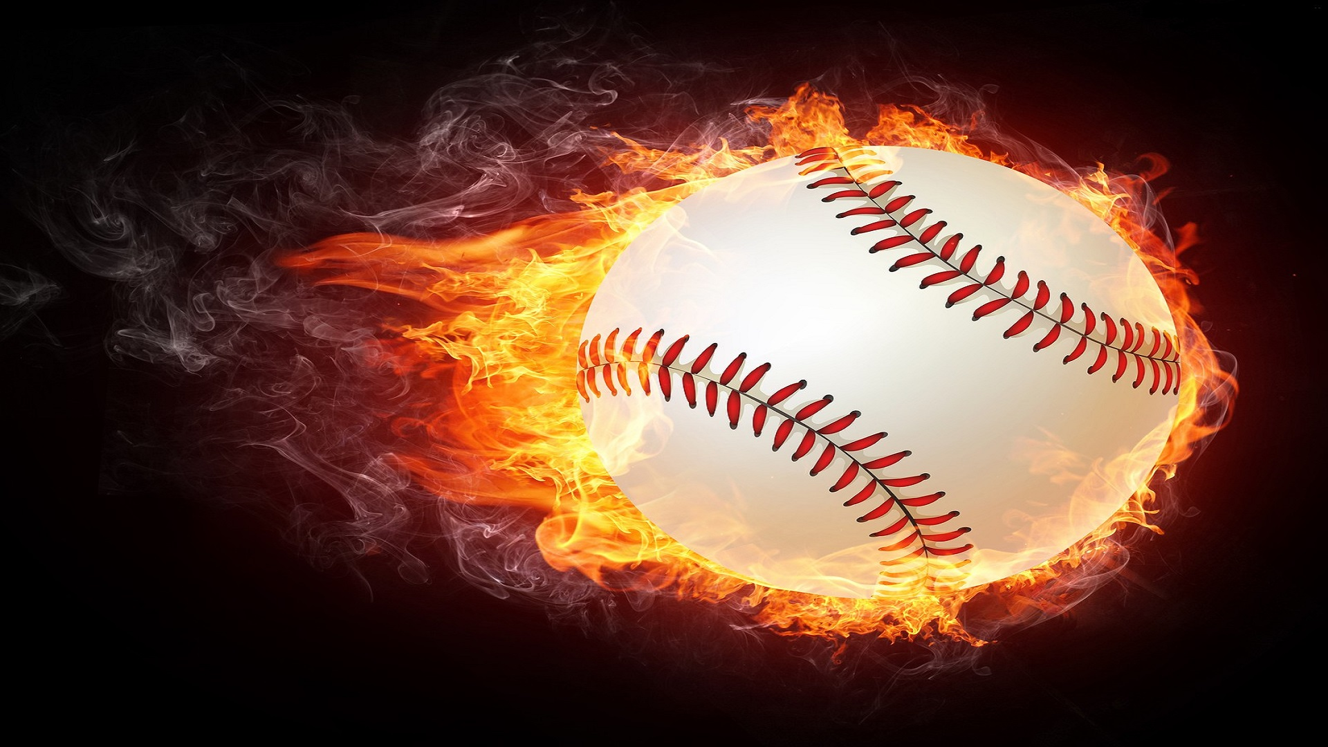 Fire Baseball Images Free Hd Wallpapers For Desktop