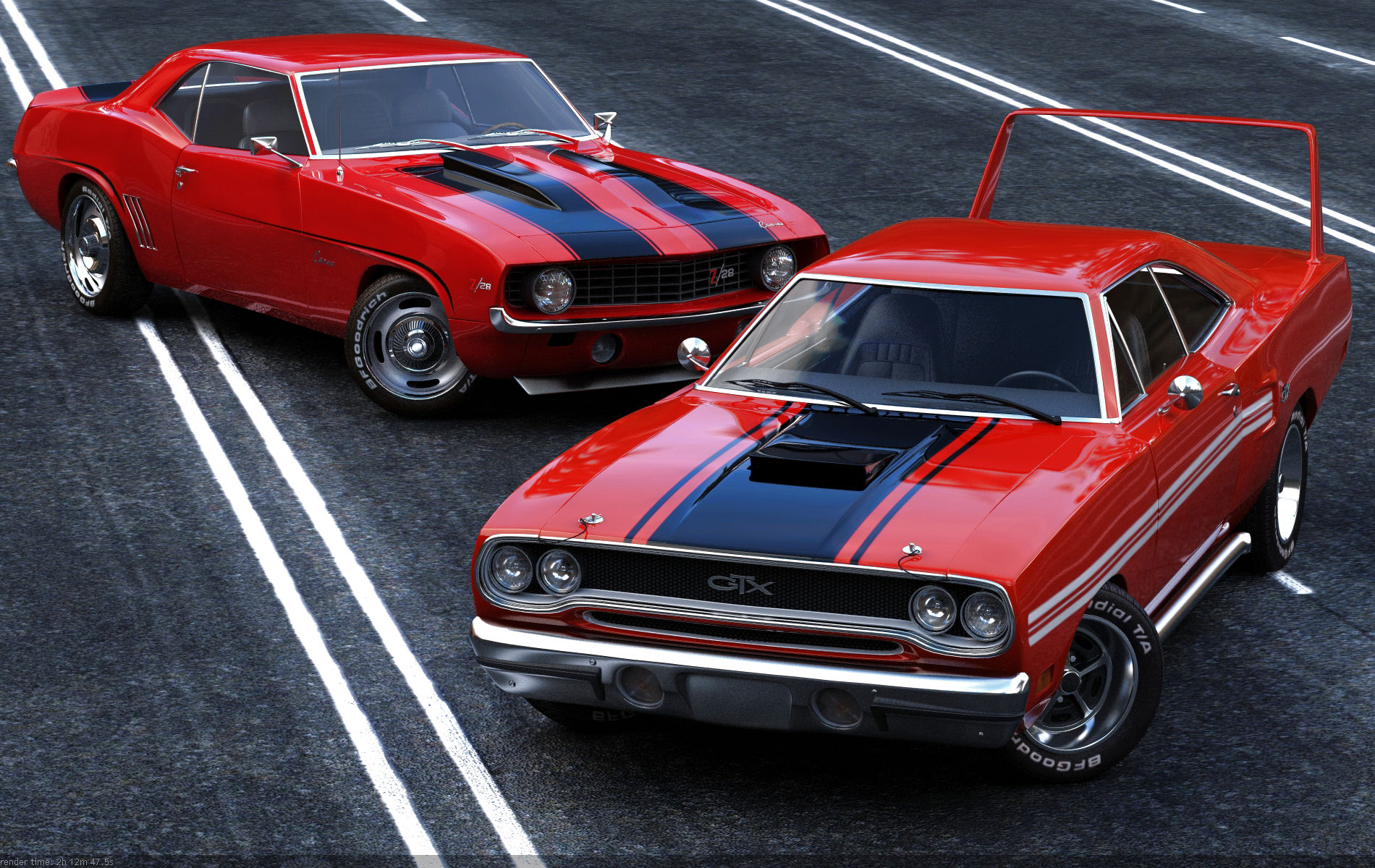 Muscle cars by missionaryrdr hd free wallpapers hd wallpaper - Pictures of muscle cars ...