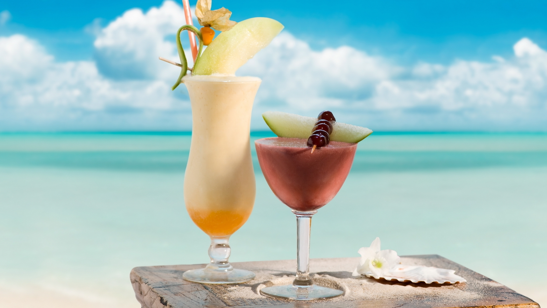 Beach Drinks Best Hd Wallpapers Free Downloaded For