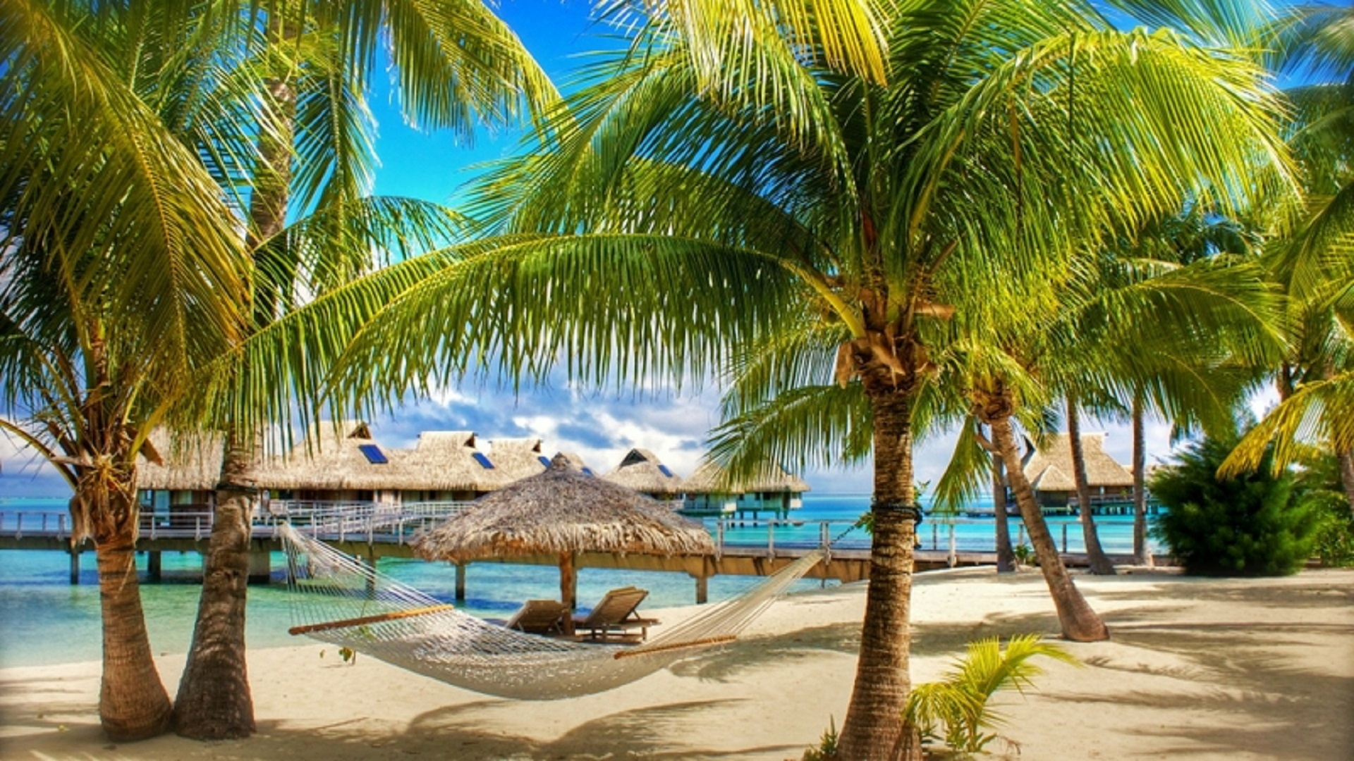 Hd Tropical Island Beach Paradise Wallpapers And Backgrounds: Beautiful-best-summer-scene-hd-free-wallpapers-for