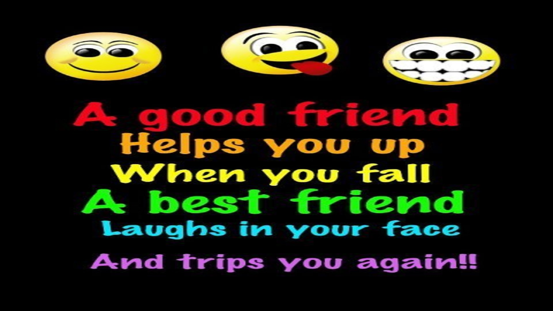 Quotes About Funny Friendship And Life Bestfriendsfriendsfunnylifequotesfreehdwallpapers  Hd