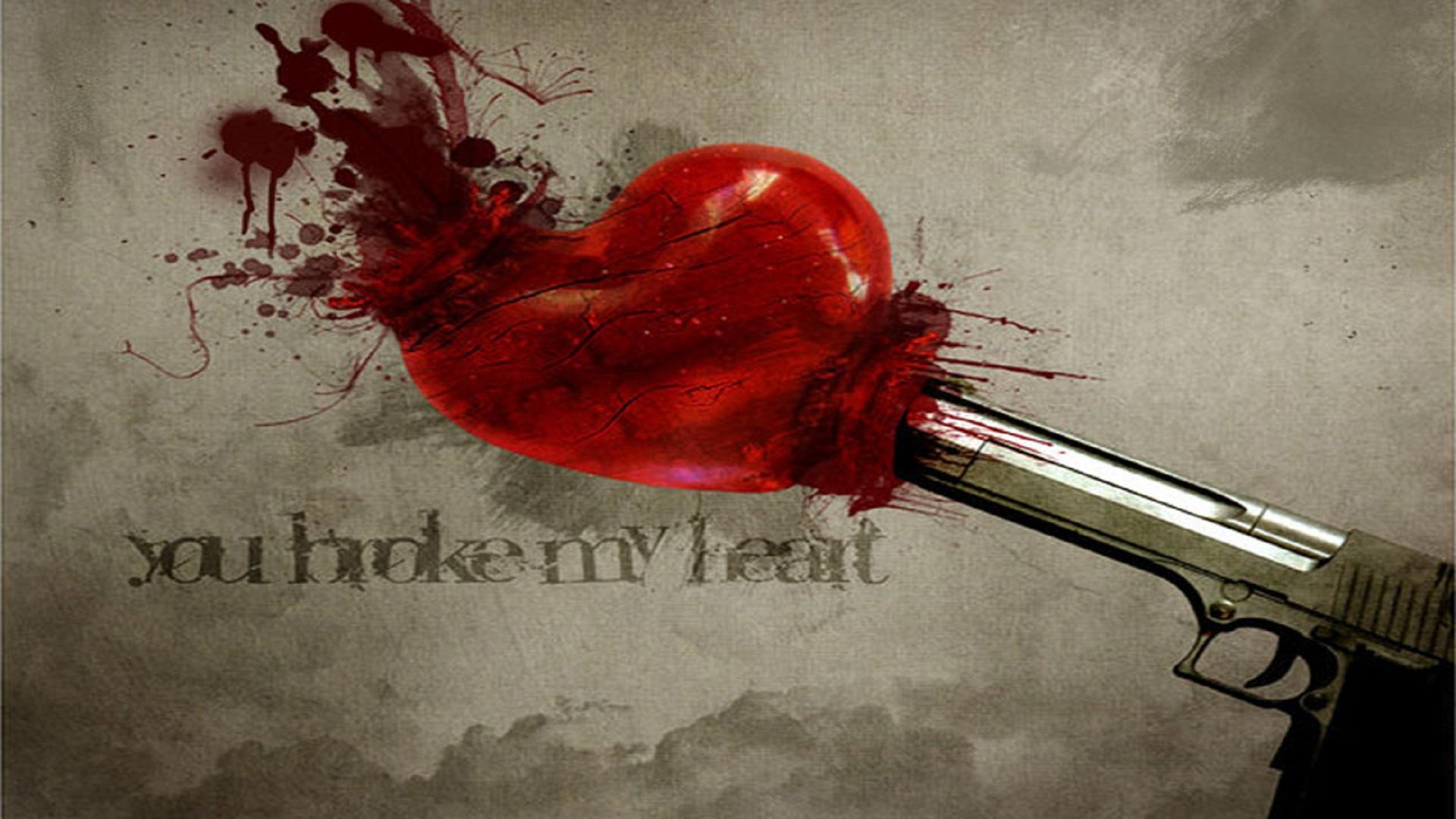 broken heart wallpapers free hd hd wallpaper