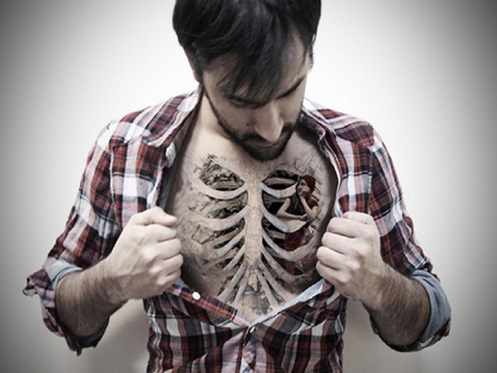 cool chest tattoo designs for men funny free hd wallpapers