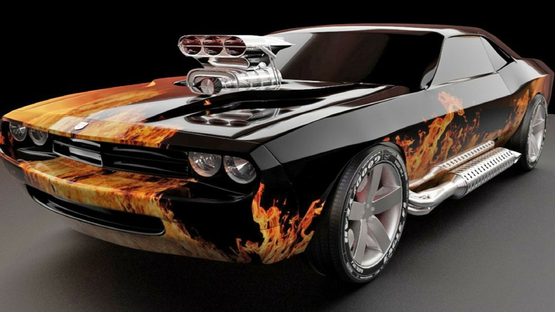 flames cars muscle cars chevrolet vehicles muscle 1440x900
