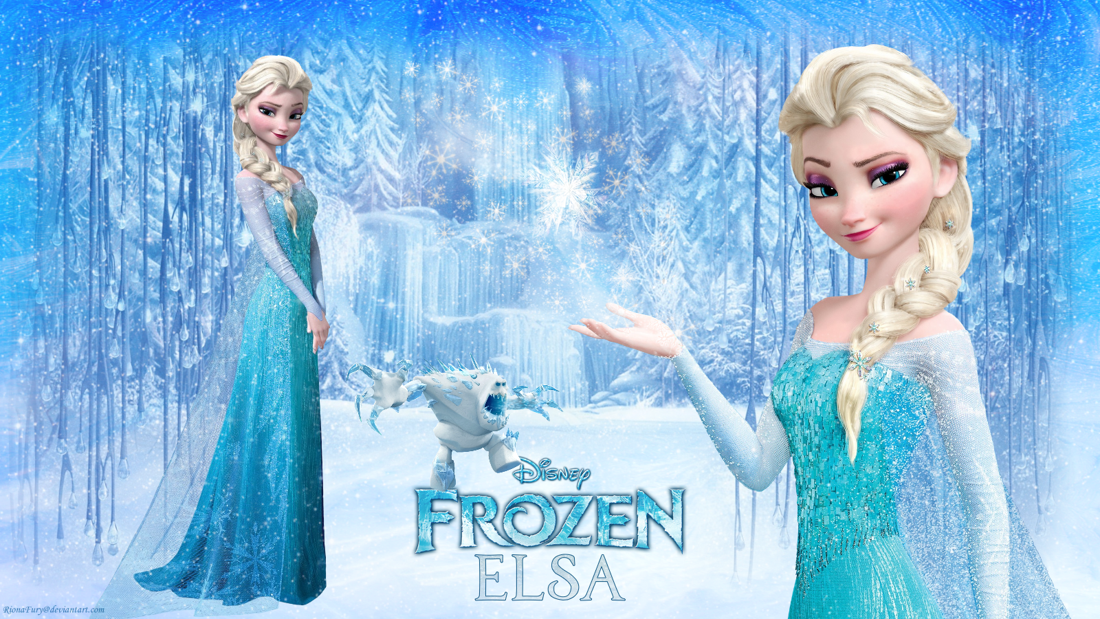 frozen-elsa-free-fall-hd-wallpapers-free-downloaded - hd wallpaper
