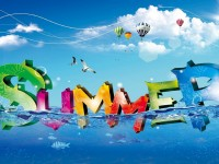 Happy Summer Season Full HD  Wallpapers For Mobile Free Download