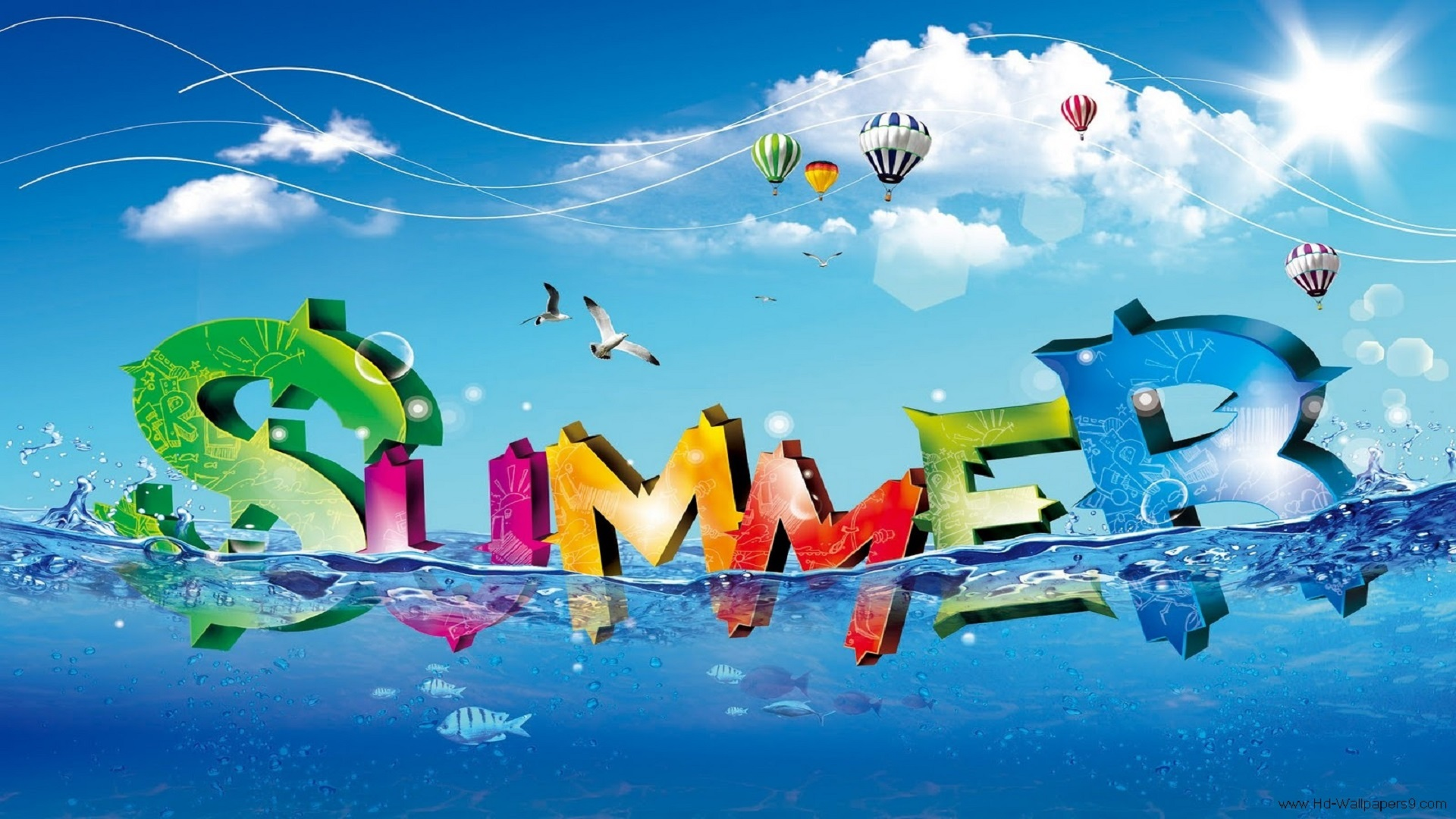 Beautiful Summer Season HD Free Wallpapers For Desktop