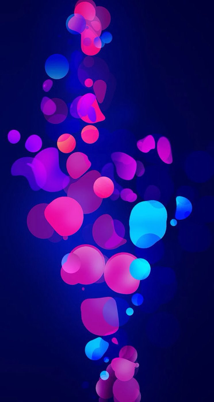 IPhone Wallpaper Hd Patterns Abstract Parallax Blue Free