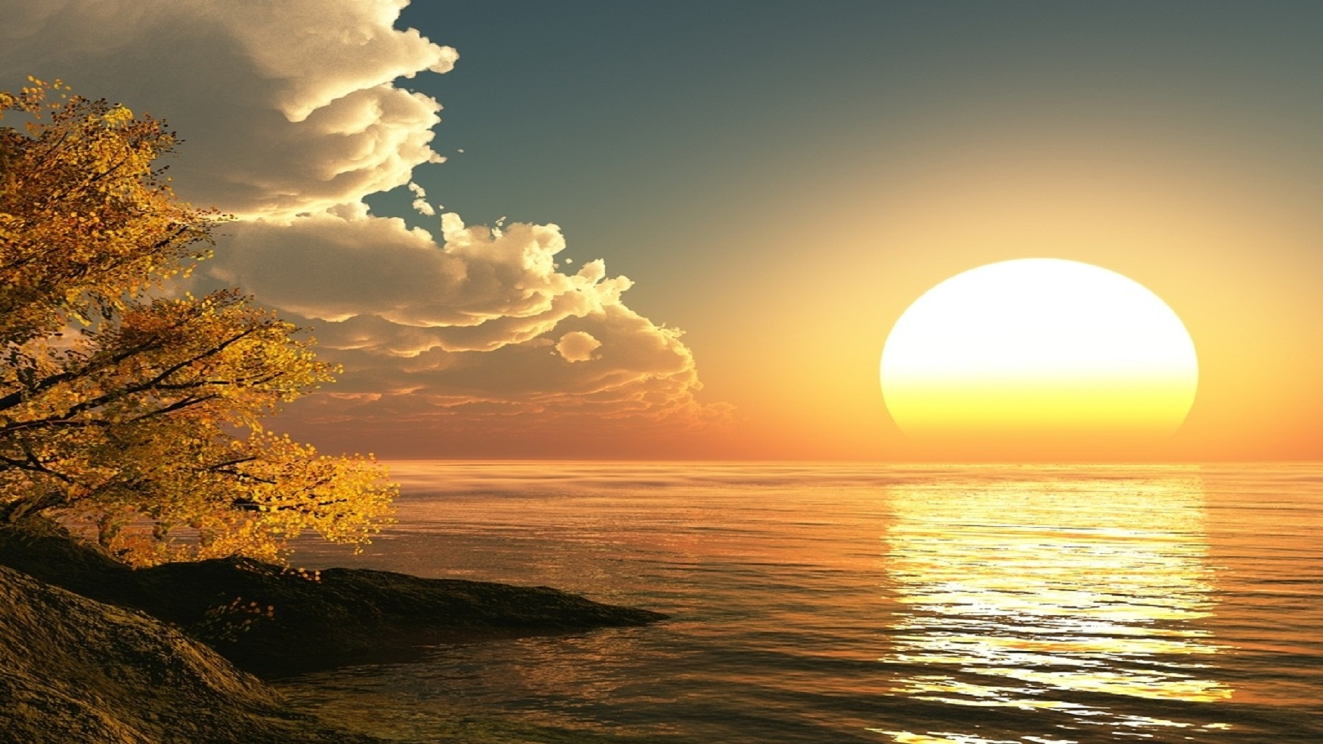 Sun-rising-hd-free-wallpaper-for-desktop