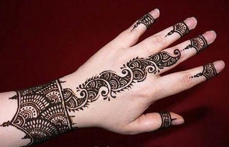 Arabic Mehndi Design Back Finger Free Hd Wallpapers
