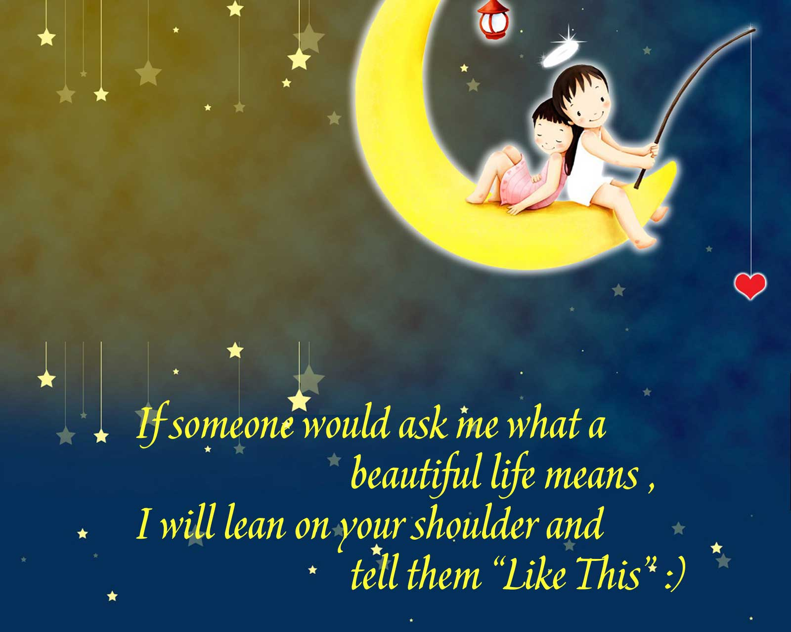 cutecartoonlifequoteswallpaperfreedownloadhdfor